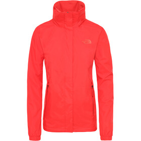 The North Face Resolve 2 Chaqueta Mujer, juicy red
